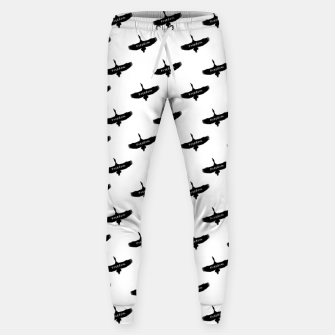 Miniaturka Freedom Concept Graphic Silhouette Illustration Sweatpants, Live Heroes