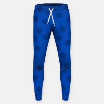 Thumbnail image of Dots With Points Dark Blue Sweatpants, Live Heroes