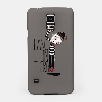 Miniatur Hang In There Mime Samsung Case, Live Heroes
