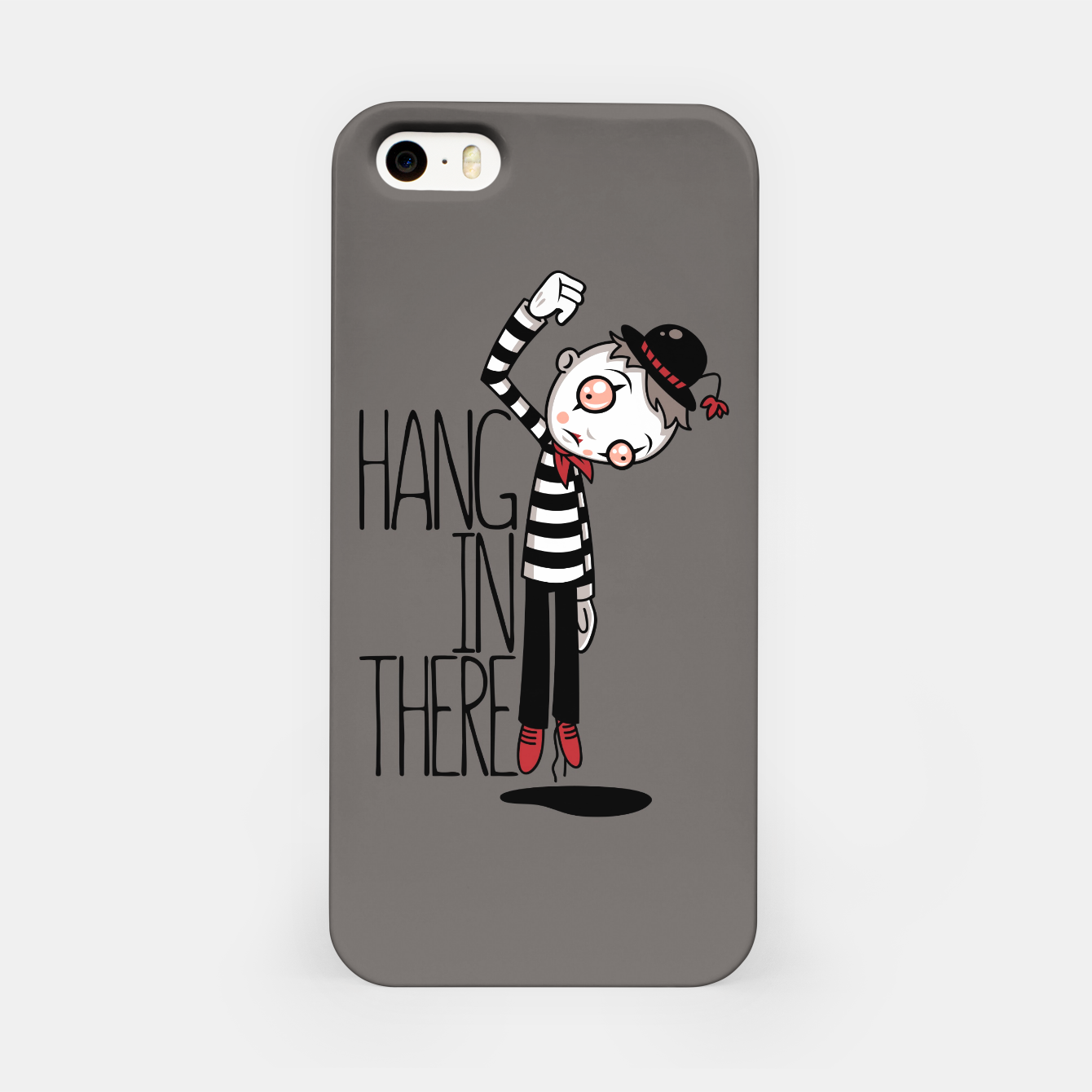 Foto Hang In There Mime iPhone Case - Live Heroes