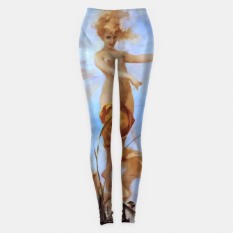 Thumbnail image of Nymph by Luis Ricardo Falero Old Masters Reproduction Leggings, Live Heroes