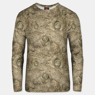 Thumbnail image of Ordovician Fossils Seamless Pattern Unisex sweater, Live Heroes