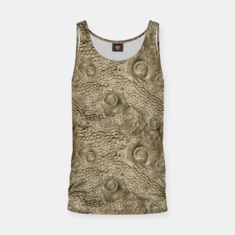 Thumbnail image of Ordovician Fossils Seamless Pattern Tank Top, Live Heroes
