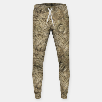 Thumbnail image of Ordovician Fossils Seamless Pattern Sweatpants, Live Heroes