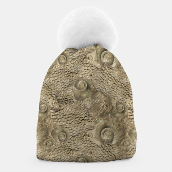 Thumbnail image of Ordovician Fossils Seamless Pattern Beanie, Live Heroes