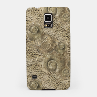 Thumbnail image of Ordovician Fossils Seamless Pattern Samsung Case, Live Heroes