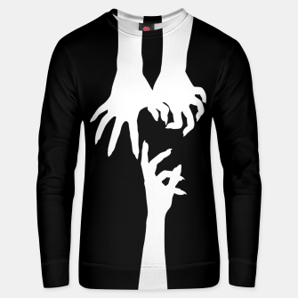 Thumbnail image of Witch hands Sudadera unisex, Live Heroes