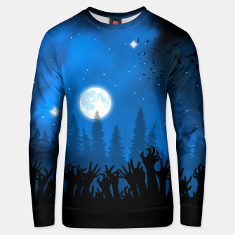 Thumbnail image of Zombies in Forest Sudadera unisex, Live Heroes