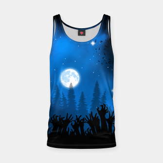 Zombies in Forest Camiseta de tirantes thumbnail image