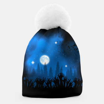 Zombies in Forest Gorro Bild der Miniatur