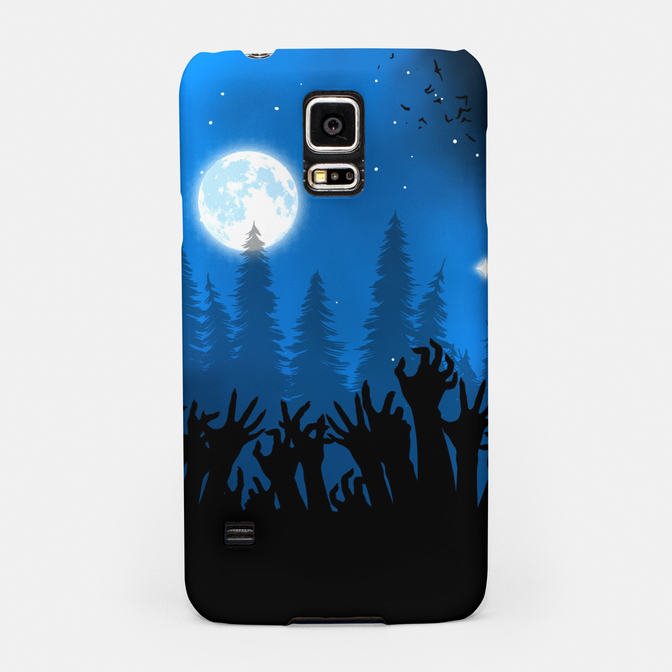 Image of Zombies in Forest Carcasa por Samsung - Live Heroes