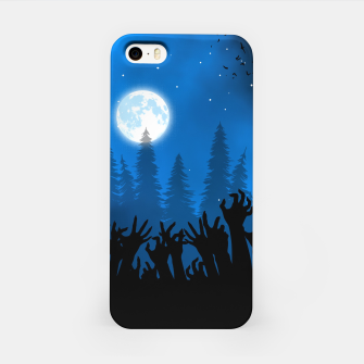 Zombies in Forest Carcasa por Iphone thumbnail image