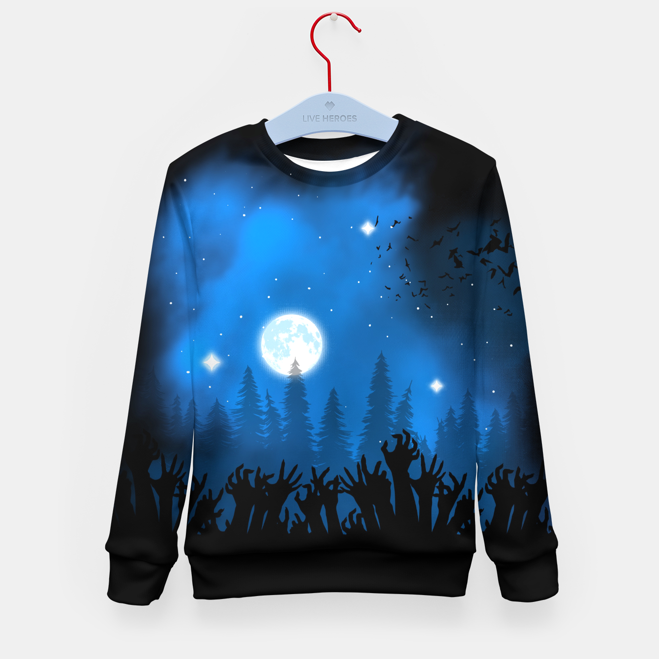 Foto Zombies in Forest Sudadera para niños - Live Heroes