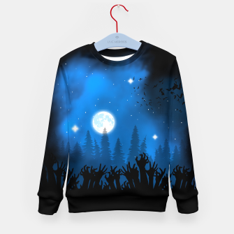 Thumbnail image of Zombies in Forest Sudadera para niños, Live Heroes