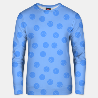 Thumbnail image of Dots With Points Light Blue Unisex sweater, Live Heroes