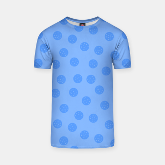Thumbnail image of Dots With Points Light Blue T-shirt, Live Heroes