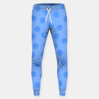 Thumbnail image of Dots With Points Light Blue Sweatpants, Live Heroes