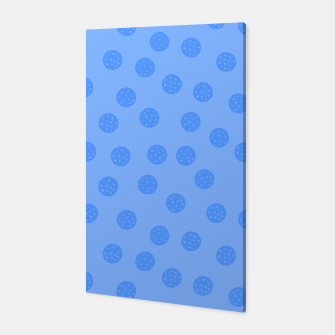 Thumbnail image of Dots With Points Light Blue Canvas, Live Heroes