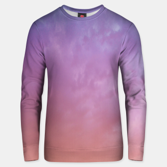 Miniaturka Colorful sky Unisex sweater, Live Heroes