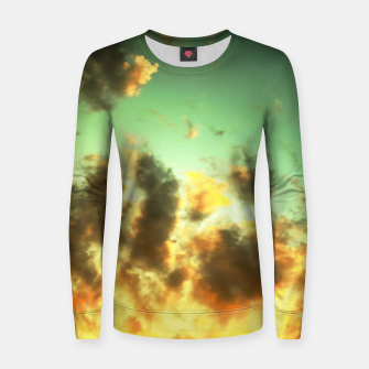Thumbnail image of NEPHELAI SERIES Radiant sunset Women sweater, Live Heroes