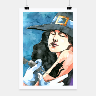 Thumbnail image of the witch Poster, Live Heroes