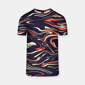 Miniatur Tiger stripes T-shirt, Live Heroes