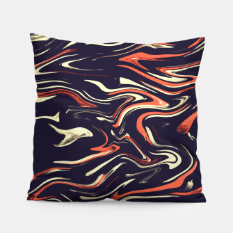 Thumbnail image of Tiger stripes Pillow, Live Heroes