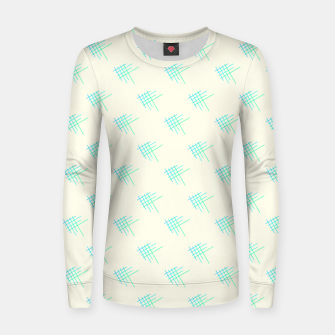 Thumbnail image of Little Blue Fish Women sweater, Live Heroes