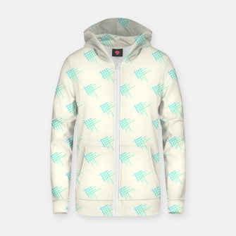 Thumbnail image of Little Blue Fish Zip up hoodie, Live Heroes