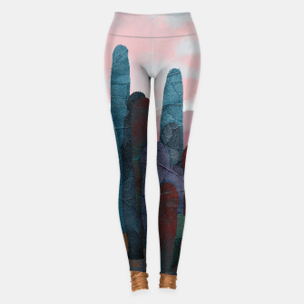 Thumbnail image of One cactus Sport leggings, Live Heroes