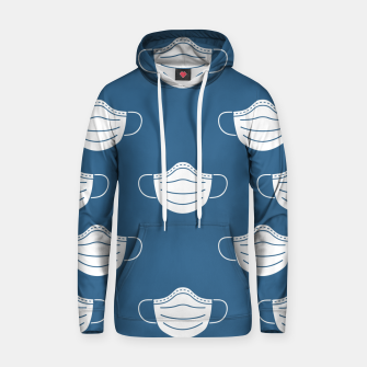 Thumbnail image of mouth mask Hoodie, Live Heroes