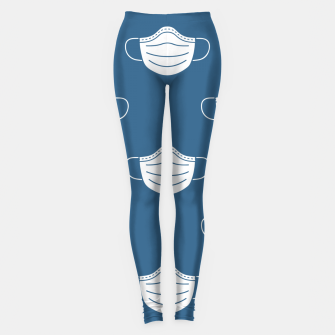 Thumbnail image of mouth mask Leggings, Live Heroes