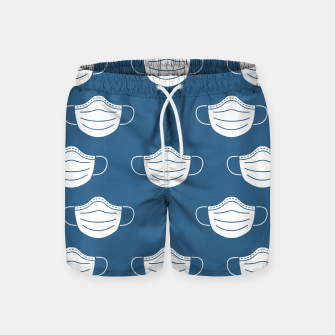 Miniatur mouth mask Swim Shorts, Live Heroes