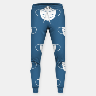 Miniatur mouth mask Sweatpants, Live Heroes