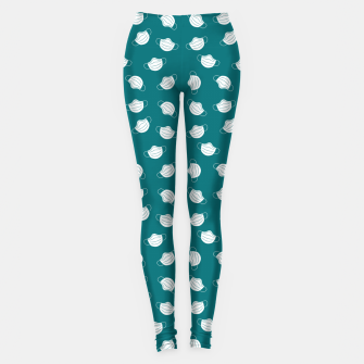 Mouth Mask Leggings Bild der Miniatur
