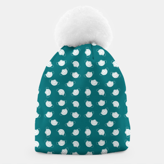 Thumbnail image of Mouth Mask Beanie, Live Heroes