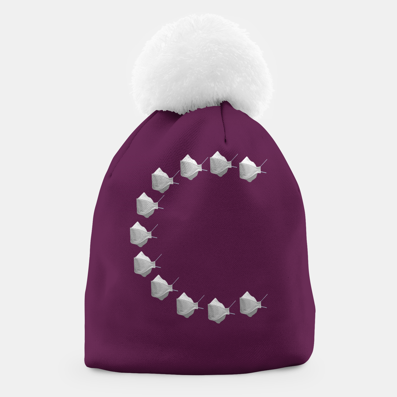 Foto C Mouth Mask Beanie - Live Heroes