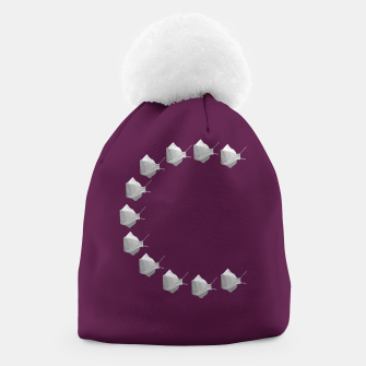 Thumbnail image of C Mouth Mask Beanie, Live Heroes