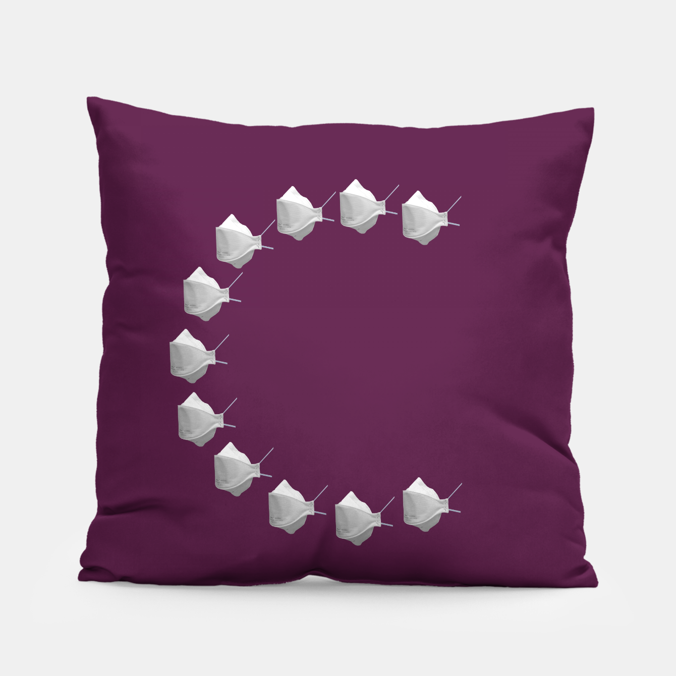 Foto C Mouth Mask Pillow - Live Heroes