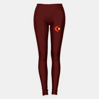Miniatur Arami Sheik's Spanish Red Moon Fantasy Legging Designs. , Live Heroes
