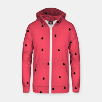 Thumbnail image of A Piece Of Melon Zip up hoodie, Live Heroes