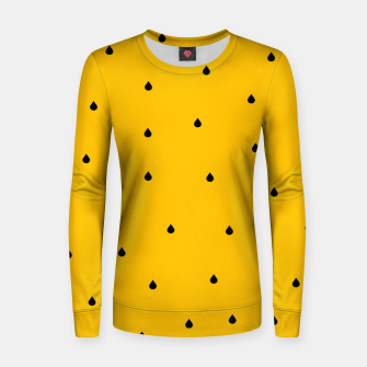 Thumbnail image of A Piece Of Yellow Watermelon Women sweater, Live Heroes