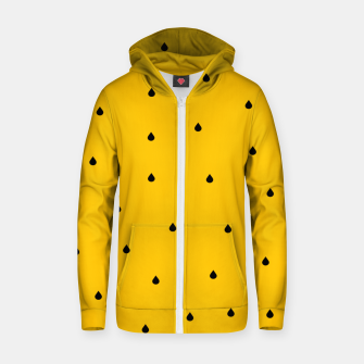 Thumbnail image of A Piece Of Yellow Watermelon Zip up hoodie, Live Heroes
