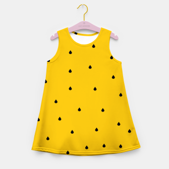 Thumbnail image of A Piece Of Yellow Watermelon Girl's summer dress, Live Heroes