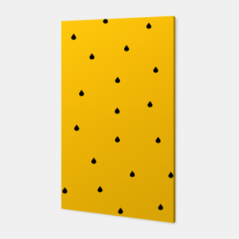 A Piece Of Yellow Watermelon Canvas thumbnail image