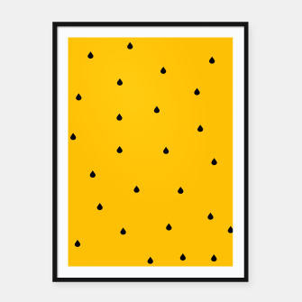 A Piece Of Yellow Watermelon Framed poster thumbnail image