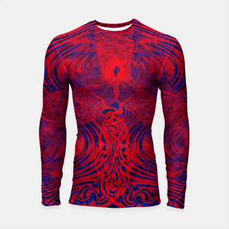 Thumbnail image of Optical illusion 001 Longsleeve rashguard , Live Heroes