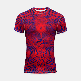 Miniature de image de Optical illusion 001 Shortsleeve rashguard, Live Heroes