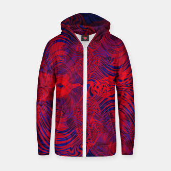 Miniature de image de Optical illusion 001 Zip up hoodie, Live Heroes