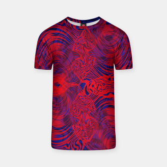 Miniature de image de Optical illusion 001 T-shirt, Live Heroes
